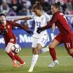 足球》美兩女國手共結連理 當年好隊友,如今十指扣