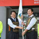 全國原住民族運動會 潘孟安授旗預祝旗開得勝