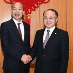 私會中聯辦主任引砲聲隆隆 韓國瑜澄清:內容天南地北,談高雄與香港未來