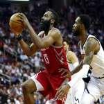 NBA》火箭哈登單季得分破2600  成就比肩布萊恩、喬丹