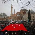 不滿美國承認以色列擁有戈蘭高地主權,土耳其總統艾爾多安大動作:我要把聖索菲亞博物館改為清真寺!