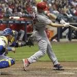 MLB》葛史密德單場扛三轟 史上首位前兩戰三響砲