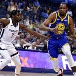 NBA》杜蘭特單季領16次技術犯規 教頭嚇到:他會被禁賽嗎?