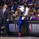 NBA季後賽》76人首戰衝不破籃網 第四節落後安比德場邊還在看手機