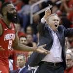 NBA季後賽》爵士防守策略失效 丹東尼:哈登好表現讓我笑開懷