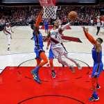NBA季後賽》拓荒者雙槍合轟62分斬雷霆 喬治表面說沒事但飽受肩傷困擾