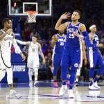 NBA季後賽》布魯克林刊登失蹤海報 協尋76人西蒙斯的跳投