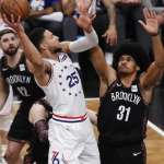 NBA季後賽》76人西蒙斯砍生涯新高31分回應酸言 球隊中鋒安比德左膝痠痛缺席照贏