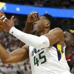 NBA季後賽》米契爾第四節狂轟19分 爵士拉尾勝火箭