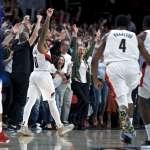 NBA季後賽》里拉德0.4秒飆進絕殺三分 全場狂轟50分率拓荒者晉級