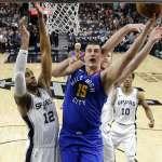 NBA季後賽》馬刺雙星合轟51分挺進第七戰 金塊約基奇43分準大三元無用