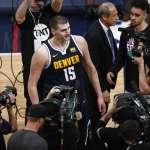 NBA季後賽》約基奇大三元拔刺晉級 金塊5年前選秀定隊型