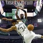 NBA季後賽》字母哥生涯最慘戰役 綠衫軍早已完整兵推