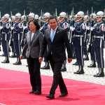 瓜地馬拉總統訪臺 會晤蔡總統討論雙邊合作
