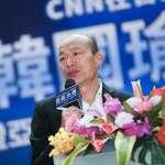 台灣民意基金會民調》郭台銘支持度緊追韓國瑜 雙方差距僅剩2%