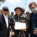 向總統府「投案」未果 綠營大老張俊宏今出院後發監