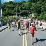 烏來峽谷馬拉松5日開跑 冰棒2千支一字排開甜降溫
