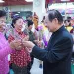 國會黨呼籲發放老母津貼 全台100市場獻祝福