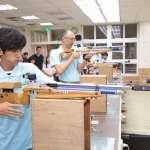 藝人阿翔林口高中射擊課程初體驗