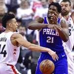 NBA季後賽》安比德看數據猛搖頭 俠客大膽斷言:76人玩完了