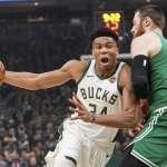 NBA季後賽》3波亂流衝散綠衫軍 公鹿睽違18年再闖東區決賽