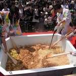 超大碗日式速食炒麵登場 比正常大1500倍創金氏紀錄
