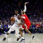 NBA季後賽》76人三星合轟63分擊潰暴龍 系列賽3比3扳平戰局