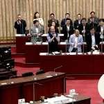 藍議員要求官員起立為韓國瑜鼓掌 洪慈庸痛批:毛骨悚然