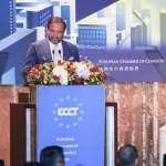 歐洲商會理事長力挺蔡英文 中文應援「綠能起飛就靠辣台妹」