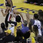 NBA季後賽》浪花兄弟大爆發砍62分 勇士有效壓制拓荒者雙槍得分收下勝利