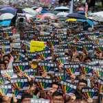「希望這幾年,不要在街頭相遇了」!破3萬人上街爭平權 呂欣潔:我們站在這,是為了要好好在這塊土地生活下去