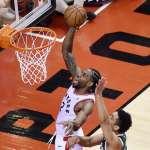 NBA季後賽》雷納德飆36分 暴龍二度延長擊退公鹿
