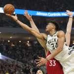 NBA》字母哥、哈登全票入選年度第一隊 詹皇成遺珠