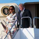 日本「令和」時代首位國賓》美國總統川普飛抵東京:看大相撲、登護衛艦、會新天皇