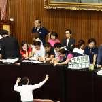 李進勇中選會人事案今將投票 藍綠一早搶占主席台