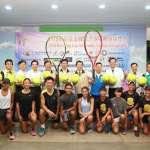 南瀛盃國際青少年網球錦標賽 新營網球場熱烈開打