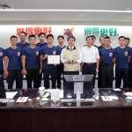 消防局登高榮獲企業團體組冠軍 黃偉哲:市民安全堅強的後盾