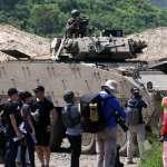 高雄陸軍官校慶95歲 30機砲雲豹甲車首度見客