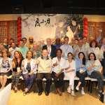 駐台使節參加龍舟錦標賽開幕 與黃偉哲共進芒果冰