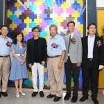 成大中鋼金屬實驗室「鈦金華彩」 藝術形象牆揭幕