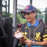 為棒球隊小朋友打氣!郭台銘:期盼東京奧運以總統身份為中華隊加油