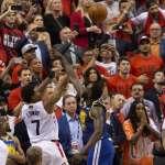 NBA冠軍戰》洛瑞三分絕殺遭封阻 勇士客場成功續命