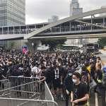 【現場直播】香港立法會遭萬人包圍!「送中條例」今付二讀審議,抗議民眾癱瘓政府總部周邊道路