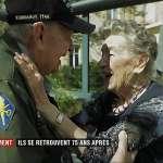 「我一直愛著妳,妳從未離開過我的心」相隔75年,二戰美國老兵重逢法籍女友