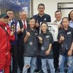新竹KGB將披國旗出征 連勝文赴竹市議會致謝