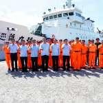 海巡署公海巡護啟航 海洋委員會主委親往勉勵