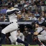 MLB》史丹頓4分打點助洋基逆轉 賞給太空人7連敗