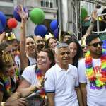 紀念美國紐約石牆事件50周年 英國倫敦同志遊行吸引逾百萬人參加