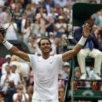 網球》納達爾強勢拍落索沙 生涯第7度打進溫網8強