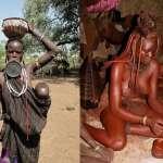 女生結婚前都要把乳房露出來,一輩子不洗澡、嘴唇吊著大圓盤…揭秘非洲4大神祕部落習俗!